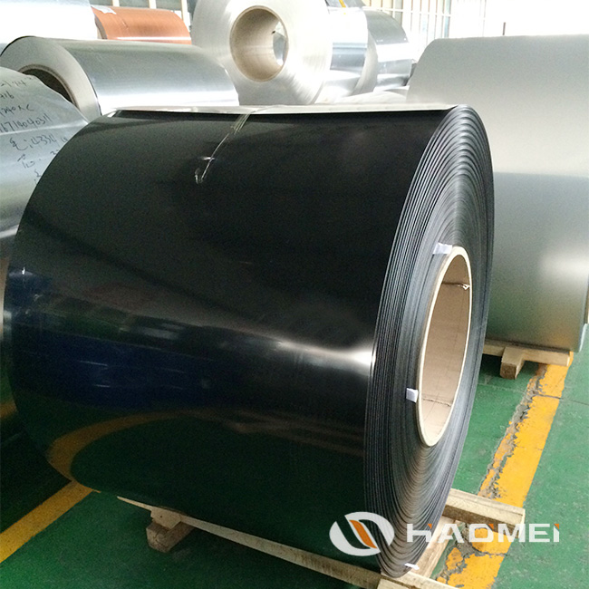 black aluminum trim coil