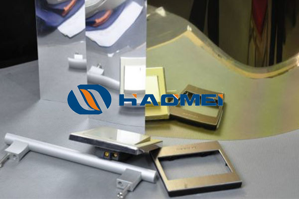 aluminum sheet mirror polish