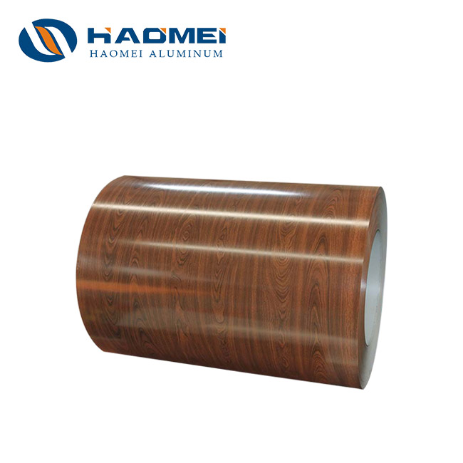 brown aluminum trim coil