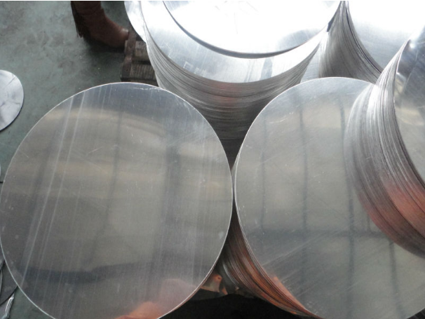 big round disc aluminum