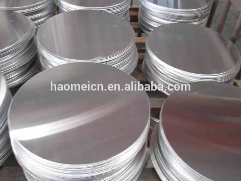 This shows 3003 5052 aluminum alloy circle plate cookware