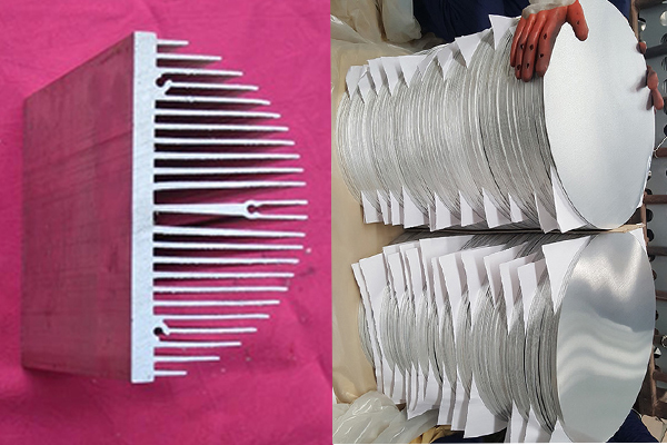 semi circle aluminum heat sink