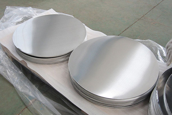 This shows 1060 aluminum circle for cooking utensils.