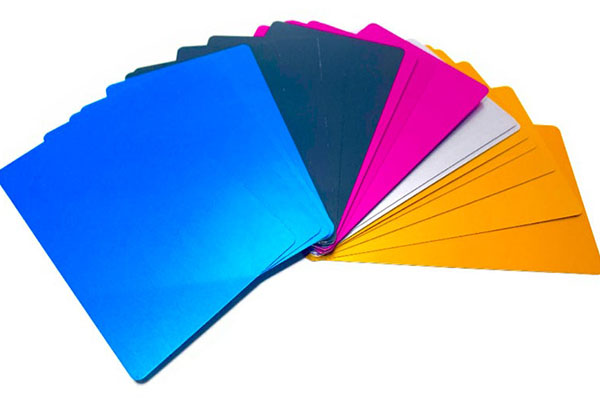 color anodized aluminium a4 sheet