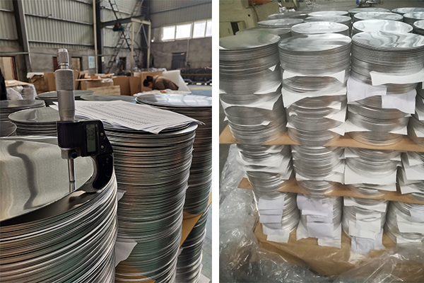 2014a anodized aluminium mirror circle sheet for