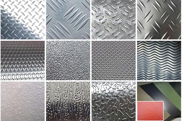 aluminium black checker plate sheets