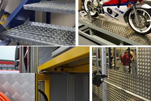 5 bar aluminium checker plate uses