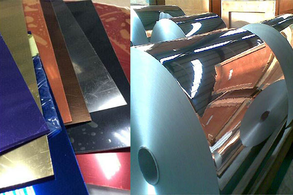 aluminium mirror glass sheets