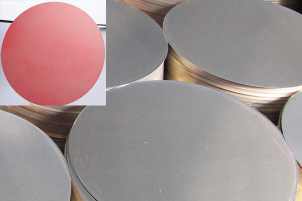 pre-painted aluminum circle