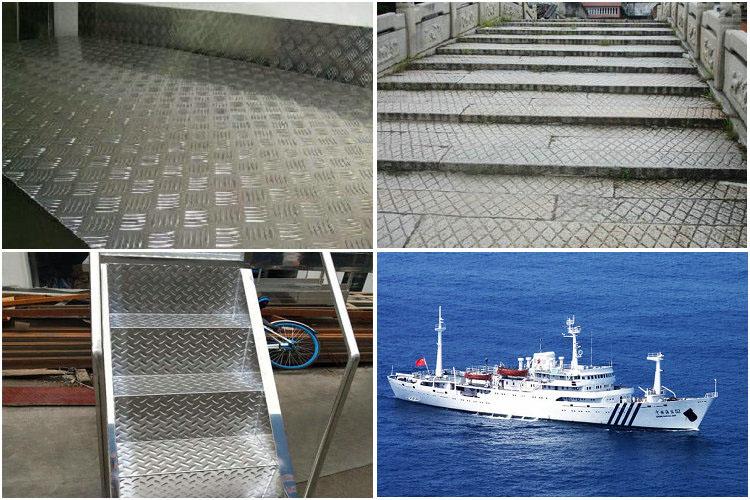 2mm 3mm 4mm 5mm 6mm aluminium checker plate application