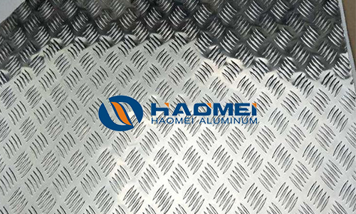5083 checkered aluminum sheets for car pedals
