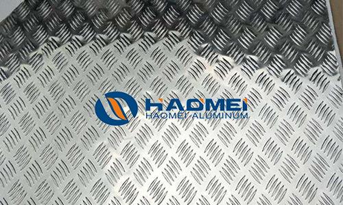 5083 checkered aluminum sheets
