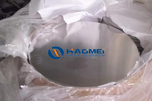 Anticorrosion aluminum circle for utensil