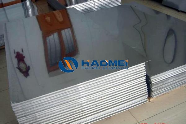 Solar reflective aluminum material mirror sheets