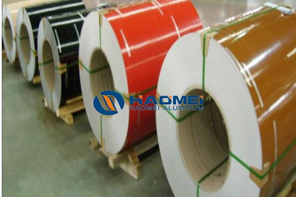 brown aluminum coil stock