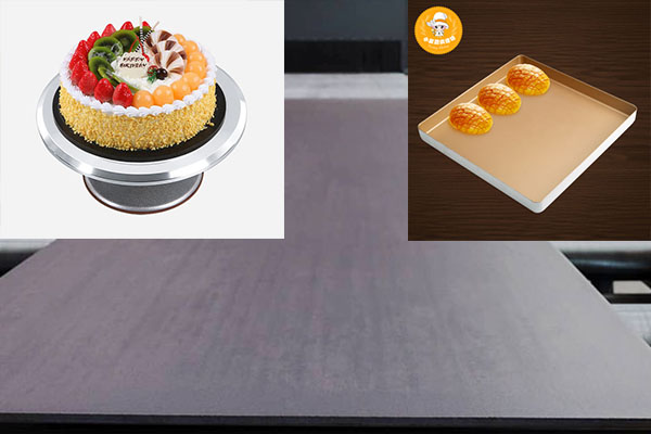 anodized aluminium baking sheet