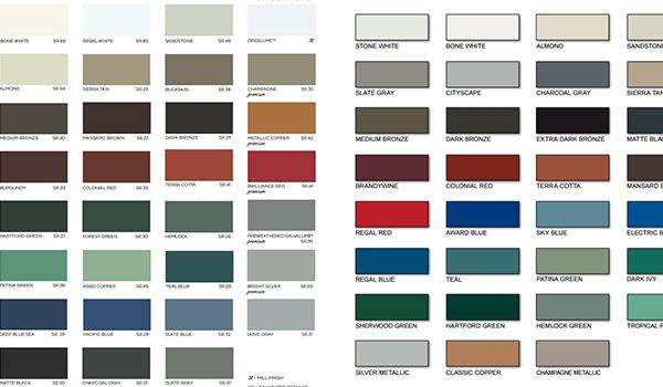 anodized aluminum sheet pantone