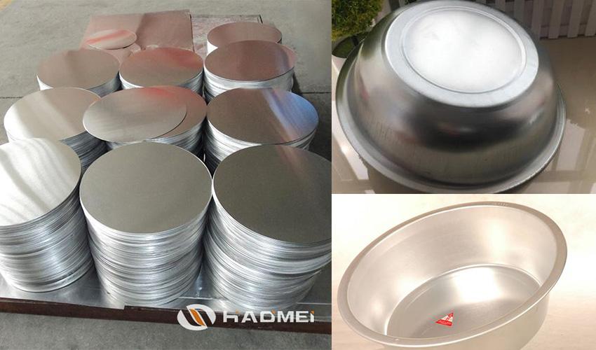 big aluminum circle disc