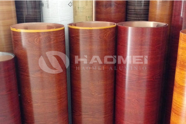 1100 h16 wood grain aluminum coil stock