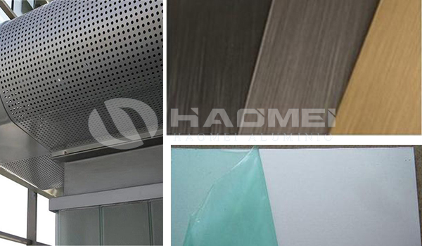 Anodized aluminium sheet for decoration