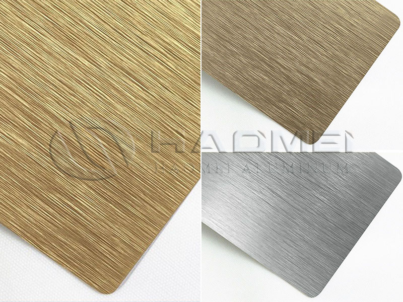 brushed 1060 aluminium sheets