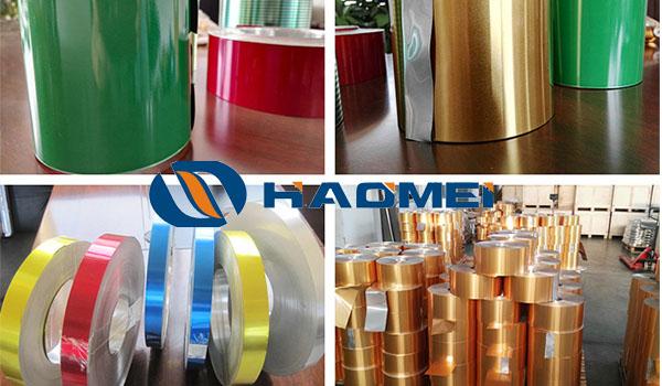 3105 h16 aluminum coil V coated aluminium sheet 8011 for aluminium cap