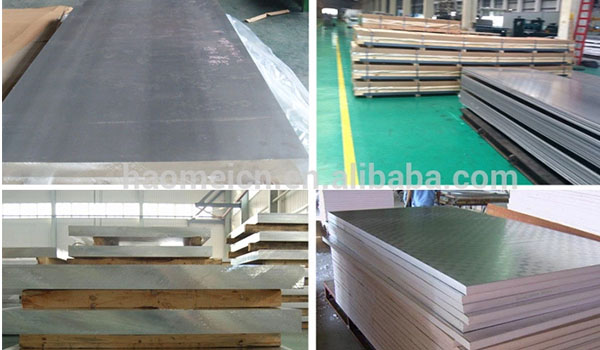 5083 6061 6082 aluminum plate for marine containers