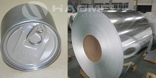 Aluminum coil 8079 for beverage can