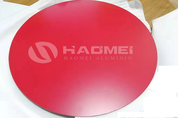 Logo printed 2214 aluminum paint circle disc