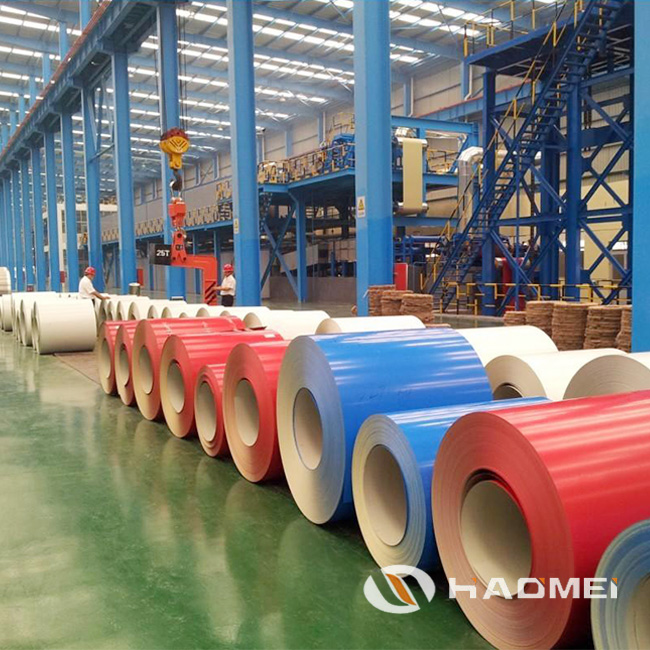 color 1060 aluminum coil