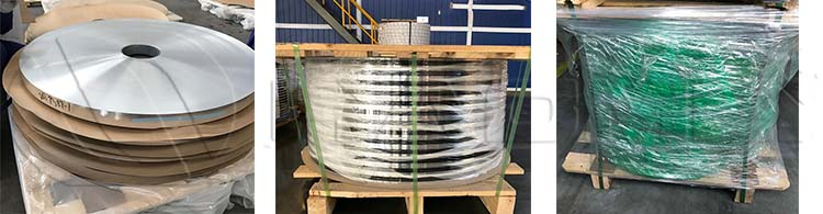 mill finish flexible aluminum strips
