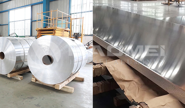 3003 2a12 1050 1060 5083 5052 6061 7075 aluminum coil and sheet