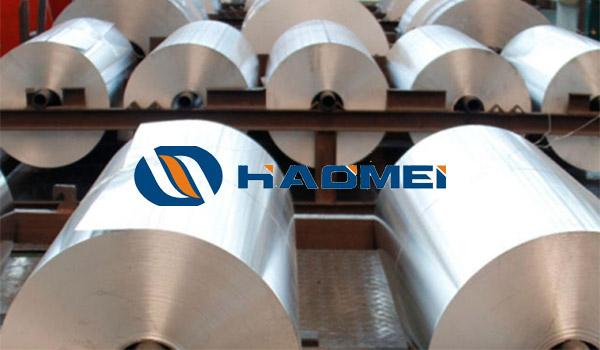Aluminium foil coil for pharmaceutical packaging