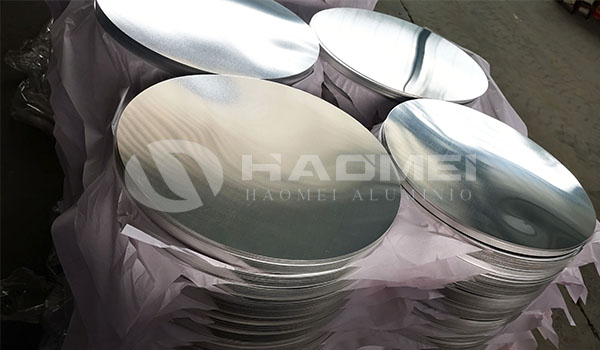 Round customized 1060 3003 aluminum circle blanks