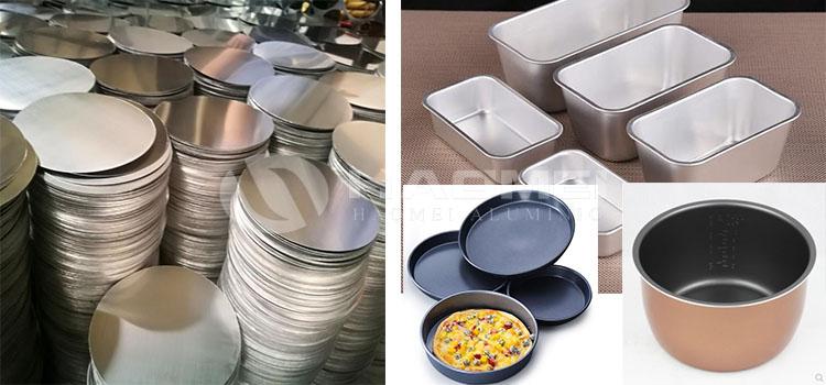 bread mold aluminium circle