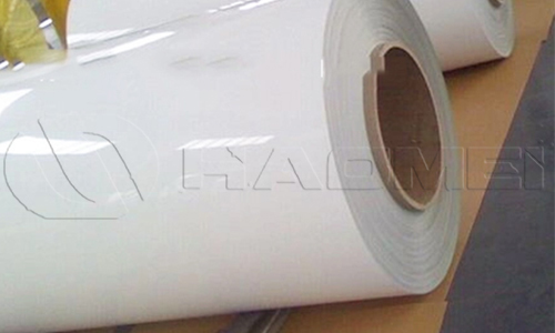 24 inch aluminum flashing roll white