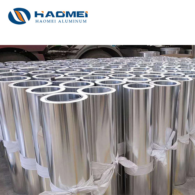 Aluminum flashing coil 2