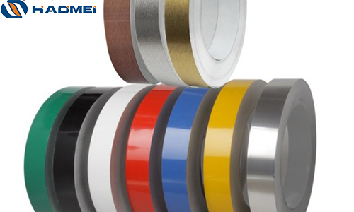 Color coated 1050 channel letter aluminum coil strip