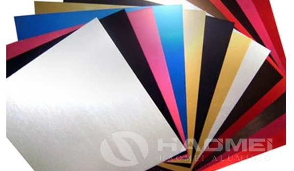 blue white red anodized aluminum sheets