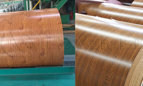 wood grain aluminum coils for sale