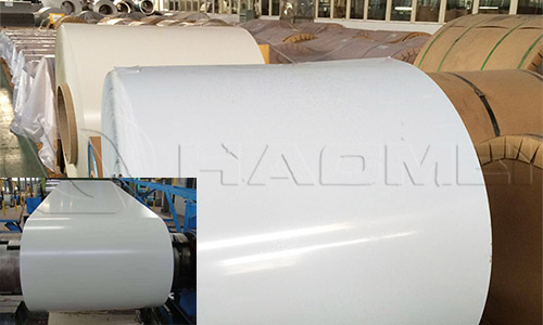 1100 pe pdvf grey white color coated aluminum coil