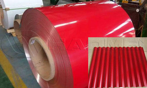 3004 painted aluminum coil for roofing