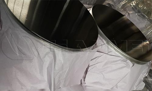Cladding aluminium circle