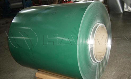aluminum coated coil pe