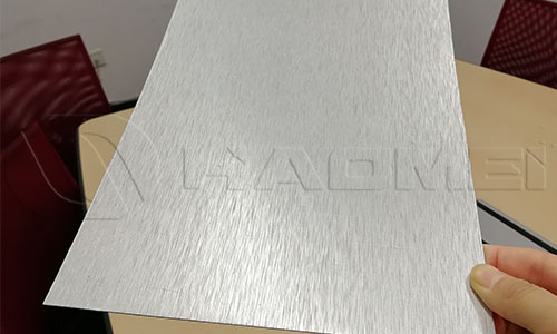 brushed aluminium sheet