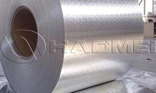 1xxx series emboss aluminum coil