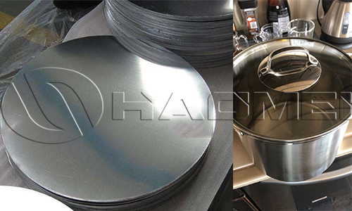 3003 Anodized aluminum discs for cookware