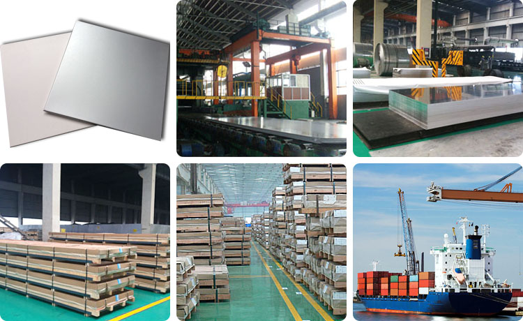 aluminium 1050 sheets production and delivery