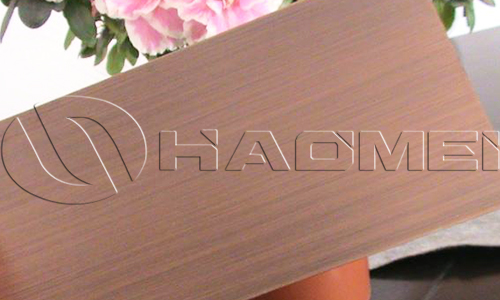 bronze anodized aluminum sheet