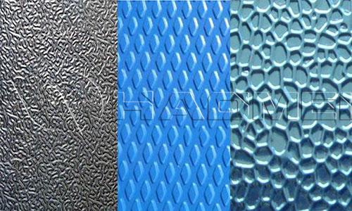 pattern aluminum emboss plate coil